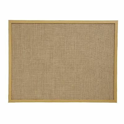 J.Burrows Hessian Board Pine Frame 45 x 60cm