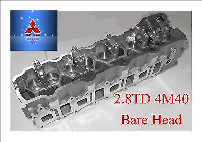 MITSUBISHI PAJERO 2.8TD 4M40T BARE CYLINDER HEAD Excellant Quality Perfect oem