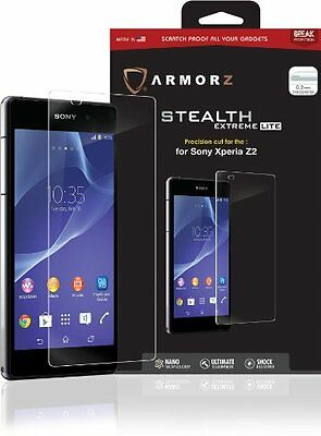 Armorz Stealth Extreme Lite Tempered Glass Screen Protector for Sony Xperia Z2