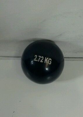 -* 2.72kg Unturned Shot Put For Competition & Training New