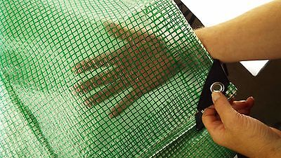100 Gsm Clear Tarpaulin/ground Sheet With Green Reinforcing,stronger Corners