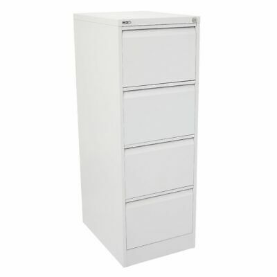 GO 4 Drawer Filing Cabinet White
