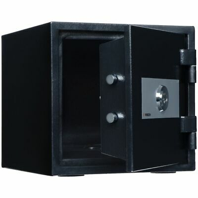 NEW Sandleford Lucifer Fireproof Key Safe Glossy Black Security Safes