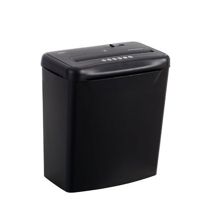 NEW Lowell Paper Shredder Cross Cut Shredder Black 4mm x 40mm Cut Size S360A