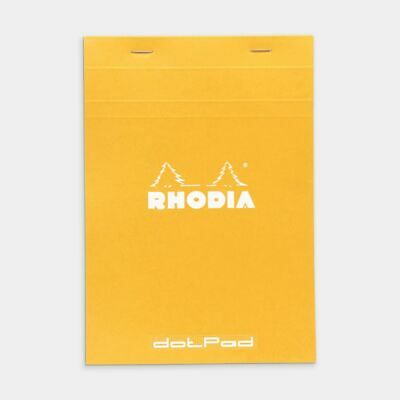 Rhodia No. 18 A4 Dot Grid Pad Orange
