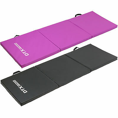 DTX Fitness Folding 6ft Exercise Mat Yoga/Pilates/Gym Class Workout/Situp/Ab Pad
