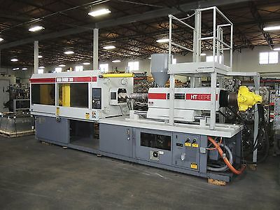 "Plastic Injection Molding Machine - Van Dorn Model 300HT - 30oz Shot - 25"" x 25"""
