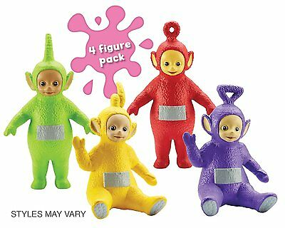 Teletubbies Four Figure Family Pack Figures Figurines Playset Toy - 18M+ - NEW