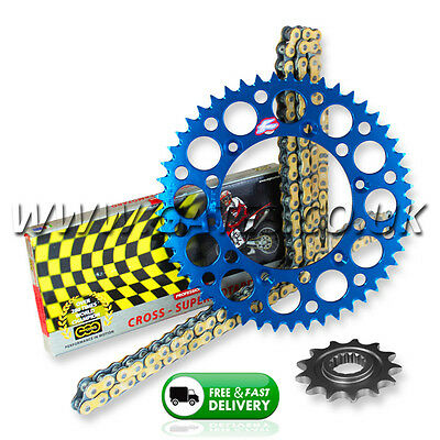 Yamaha WR450F 2003-2017 Regina RX3 PRO H/D Chain And Blue Renthal Sprocket Kit
