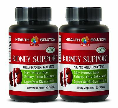 Premium Kidney Cleanse - KIDNEY SUPPORT 700MG - May Help Normalize Urine - 2 Bot