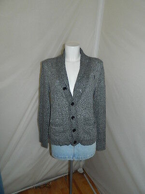 Abercrombie&fitch Cardigan Maglione Jumper Sweater Pullover Donna S Casual S4408