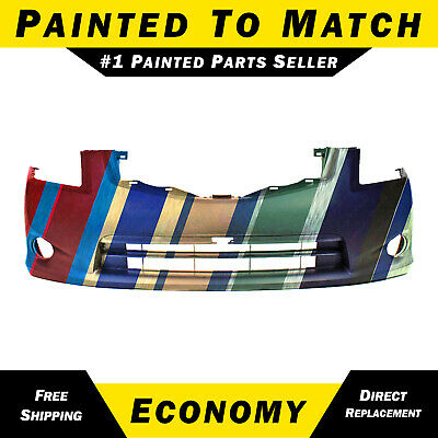 NEW Painted to Match - Front Bumper Cover for 2010 2011 2012 Nissan Sentra