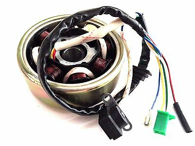 Stator Flywheel Set For Gy6 49Cc 50Cc Scooter Moped  High Output Alternator