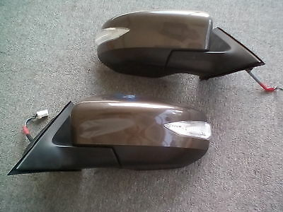 2013 Nissan Altima Folding Right And Left Mirror Assembly With Signal Oem