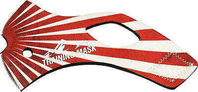 Elevation Training Mask 2.0 Rising Sun Sleeve (Red)
