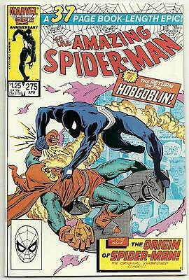 Amazing Spider-Man #'s 275 - 279 Nice Copies [5 Issues]