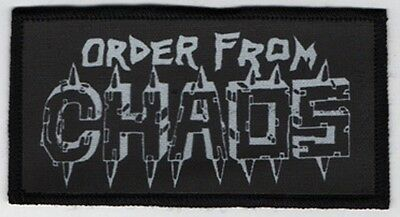 Order From Chaos Patch / Speed-Thrash-Black-Death Metal
