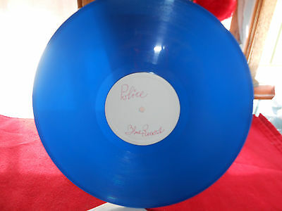 "Police  Every Breath You Take (Remix) 12"" 45 VINYL BLUE MEGA RARE ITALY 1983 VG+"