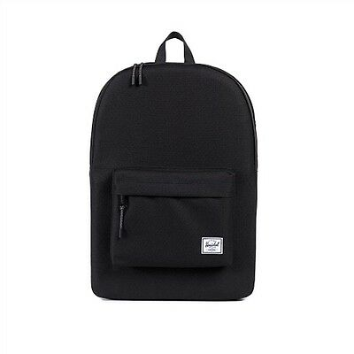 Herschel Classic 600D Poly Bag Backpack Black New