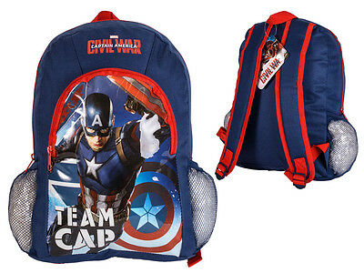MARVEL SUPER HERO CAPTAIN AMERICA KIDS School MESSENGER BACKPACK FASHION  BAGS