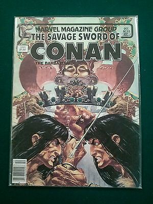 Marvel Magazine - The Savage Sword Of Conan The Barbarian #93 Oct 1983 VF