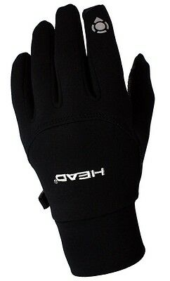 NWT HEAD Unisex Sensatec Digital Touch Running Gloves Size XS BLACK