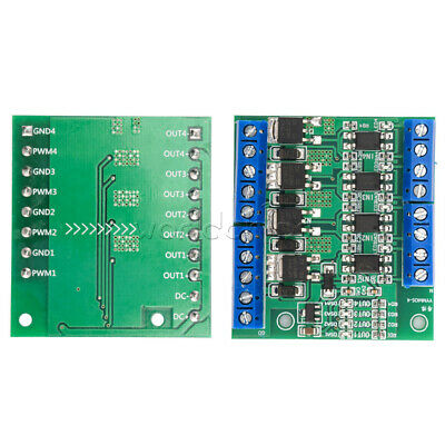 Trigger Switch Module 4-way FET MOS DC Control for PWM Motor Pump LED O6IM New