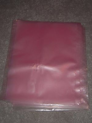"LOT of 10 - 12 x 15"" 2 Mil Anti-Static Poly Bags for Motherboards"