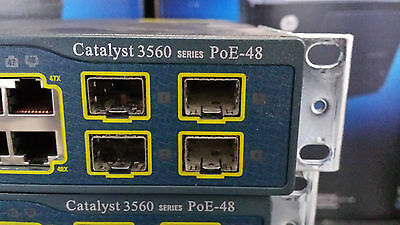Cisco Catalyst WS-3560-48PS-S 10/100 ports and four SFP uplinks