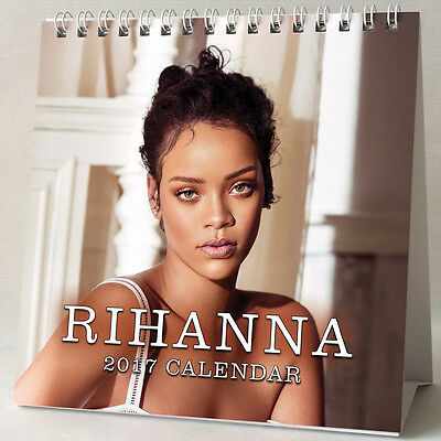 Rihanna Desktop Calendar 2017 NEW Work Needed Me Diamonds Kiss It Better Stay