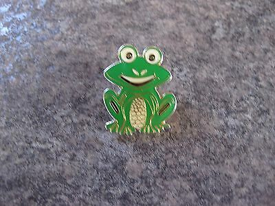 Frog  Button   Pin