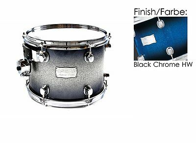 "Mapex Saturn 16""x13"" Tom Tom Blue Galaxy Sparkle Burst (BC Hardware)65%Reduziert"