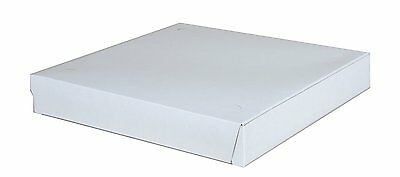 """Southern Champion Tray 1460 Clay Coated Kraft Paperboard White Pizza Box, 12"""" L"""