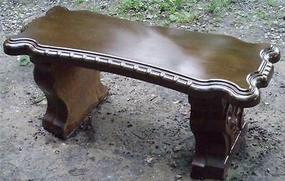 """Concrete Cement Bench Mold top  Fancy Scroll bench top  1/8"""" Thick ABS"""