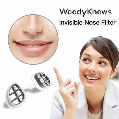 New WoodyKnows Super Defense Nasal Filter Invisible Nose Filter Nose Mask V8H8