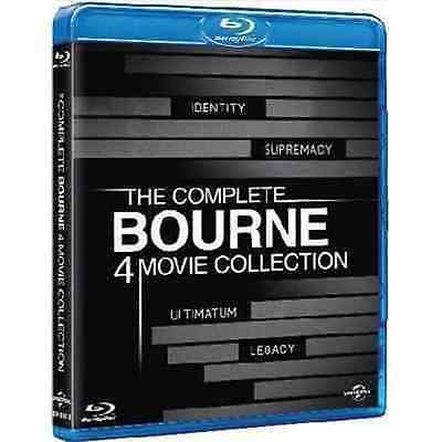Blu Ray THE BOURNE - Collection 4 Film - (4 Blu Ray) ......NUOVO
