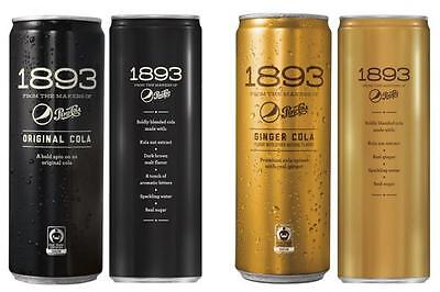1893 Pepsi Cola - Original and Ginger with Kola Nut - Variety pack!