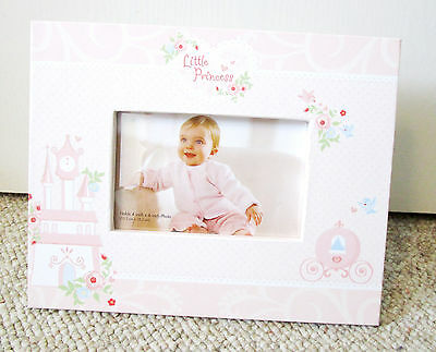 Disney Baby Pink Princess Picture Photo Stand Frame for 4x6 Flower Cinderella