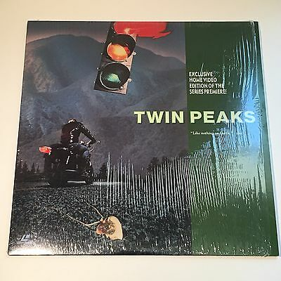 Twin Peaks Laserdisc Exclusive Home Video Edition of the Series Premiere