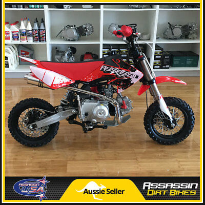 Assassin A4 PRO 110cc Semi Auto Mini Pit Dirt Bike