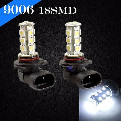 9006 HB4 LED 18 SMD Xenon Headlight Bright Hyper White 6000K Lamp Bulb Low Beam