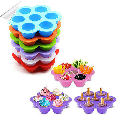 Kid Baby Food Container Storage Boxes Best Freezer Mould Trays Cupcakes