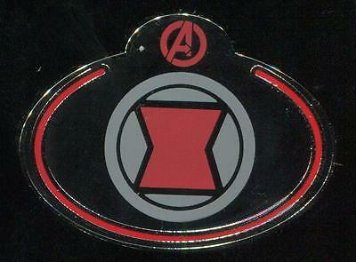 Cast Exclusive What's My Name Tag Badge Black Widow Marvel Avengers Disney Pin