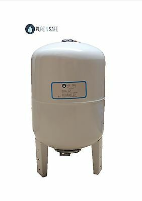 Water Pressure Tank Vessel 100L, Drinking Water Quality, White