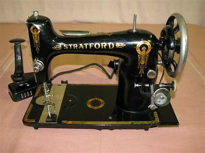 RARE Early 20th Century Stratford Electric Sewing Machine