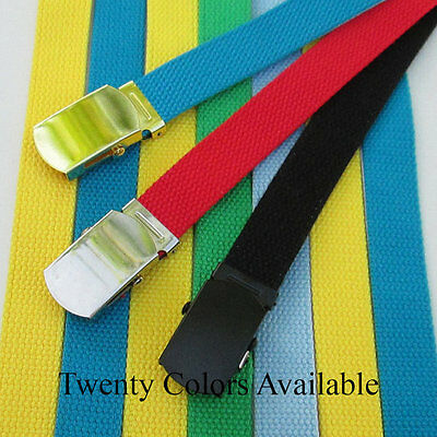 Kids School Uniform Belts-Cotton Webbing-Girls Belts-Boys Belts-30 Inches Long
