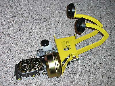 1920's 30's 40's Street Rat Rod Power Brake Booster Manual Clutch Pedal Assembly