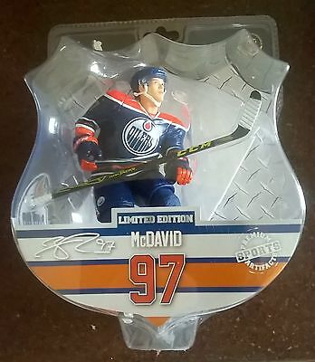 "Connor McDavid Edmonton Oilers NHL Imports Dragon 6"" Player Action Figure"