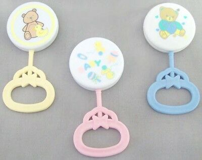 Baby Goods Lollipop Baby Rattles  Wholesale 12 Pc Lot  (EBr27061)