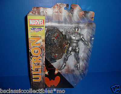 Marvel Select Ultron Figure Diamond Select Toys With Ant-Man & The Wasp On Base
